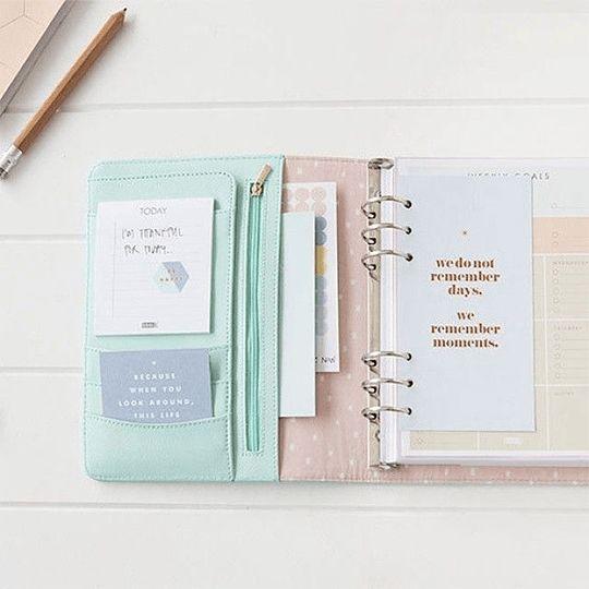 Ideas de Agendas para 2017 #planner #bonitas #Decorar
