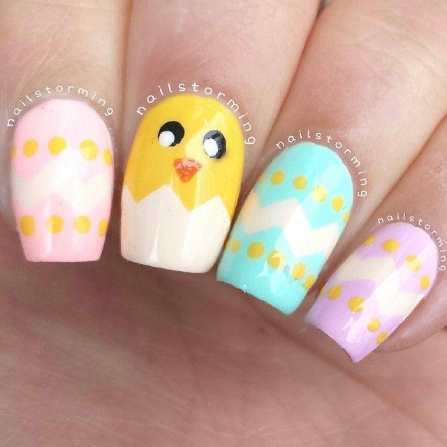Best 25+ Easter nail art ideas on Pinterest