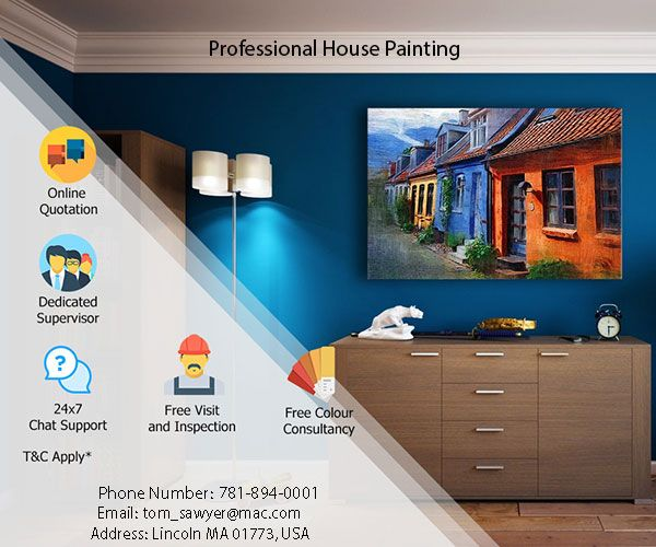 We Provide High Quality Residential Interior Painting Services