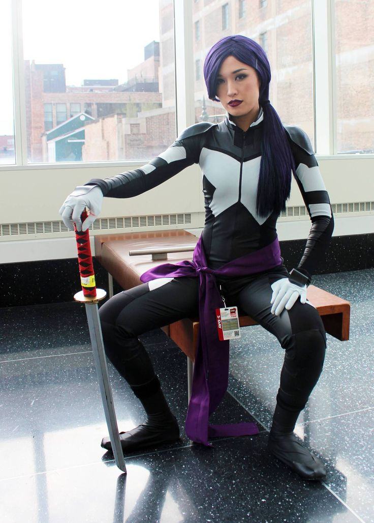 Psylocke cosplay costume