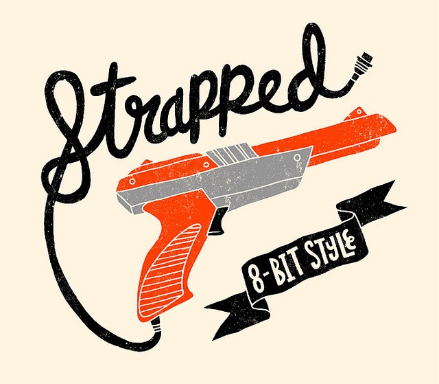 Strapped 8-bit style