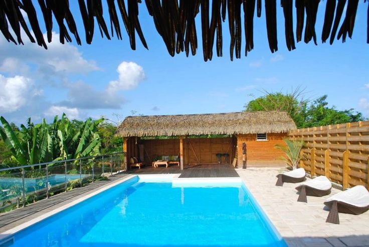 bungalows, close to beach. Need to confirm price.
