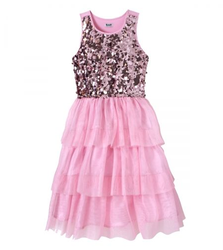 Paiette Tulle Dress