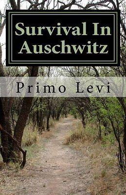 PRIMO LEVI - Survival In Auschwitz - PAPERBACK ** Brand New **