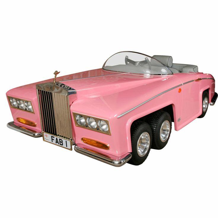 FAB 1 Pink Rolls Royce (Lady Penelope)