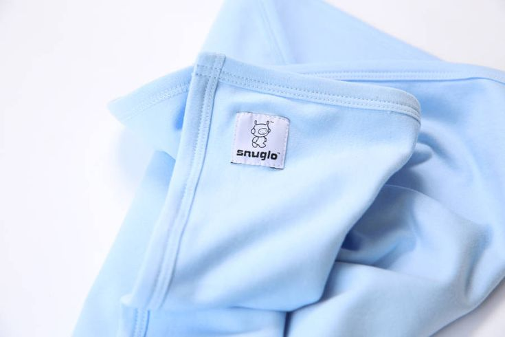 Snuglo Supersoft, sky blue baby blanket   – Products