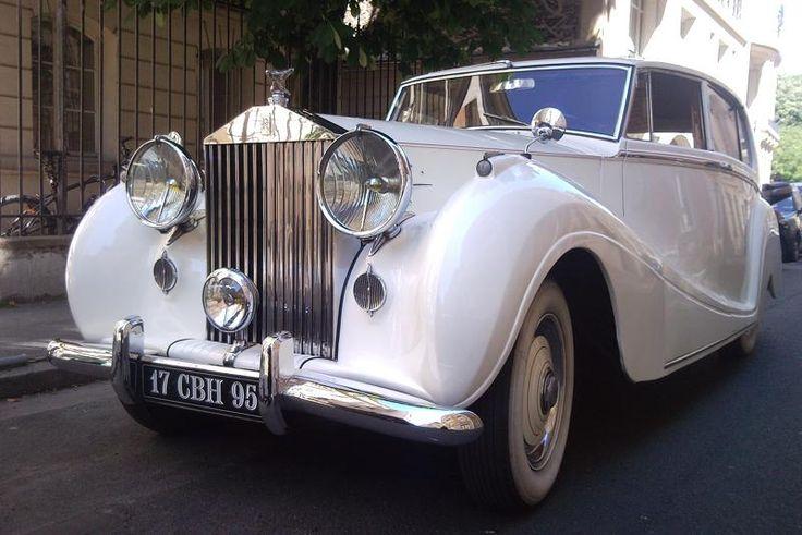Rolls Silver Wraith #wedding #car #white #prestige #rolls #silver #wraith
