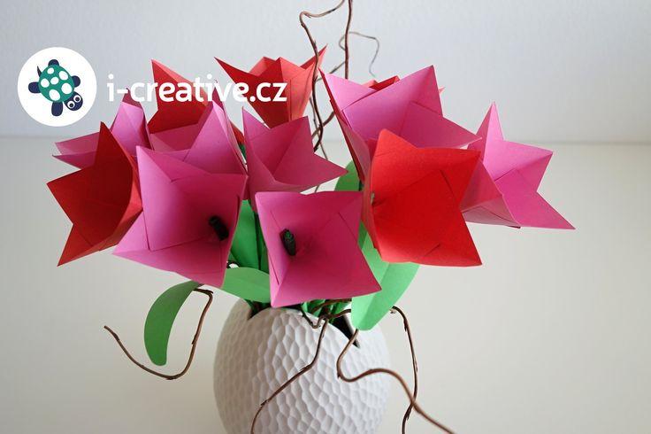 Videonávod - květiny z papíru