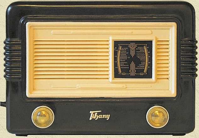 Videoton R822 Tihany 1957 Hungary