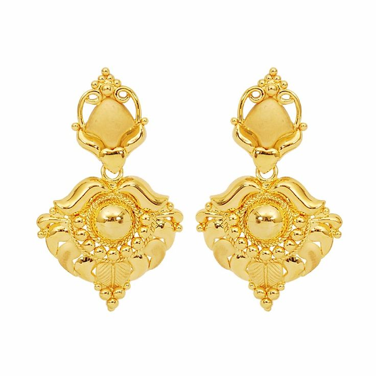 gold-heart-and-arch-earrings-31.jpg (800×800)