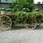 Holzwagen, super als Kulisse oder Candy Cart