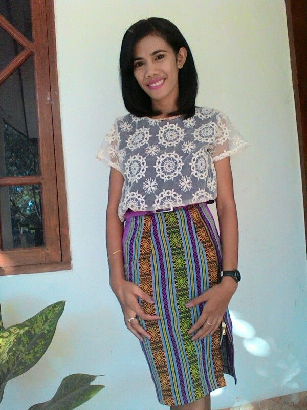 tenun NTT skirt #roktenun #ethnicskirt