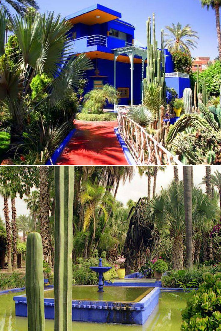 The Majorelle Garden In Marrakech With Images Marrakech