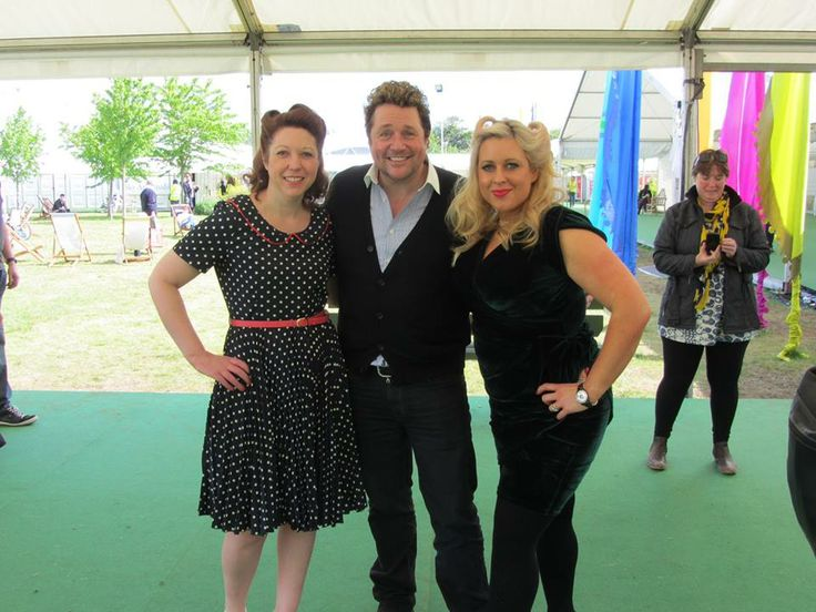 Michael Ball popped by to see us! Hay-on-Wye