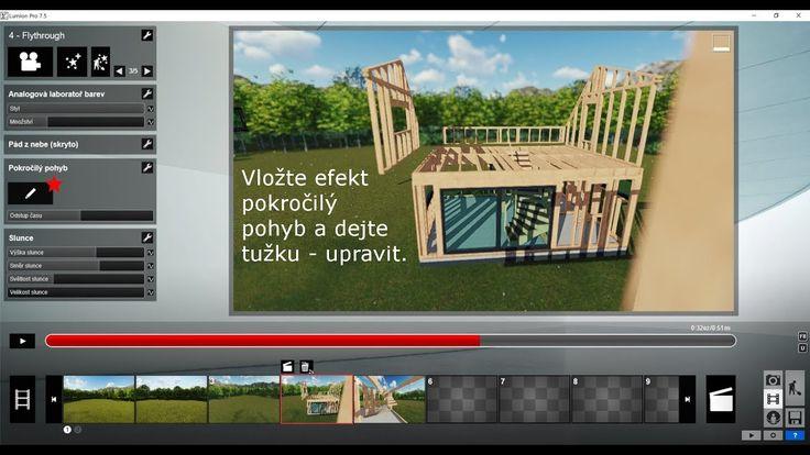 Tutoriál - animace konstrukce Lumion 7.5 + Sketchup