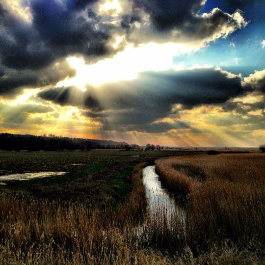 Looking from Cley Next The Sea towards Blakeney - North Norfolk