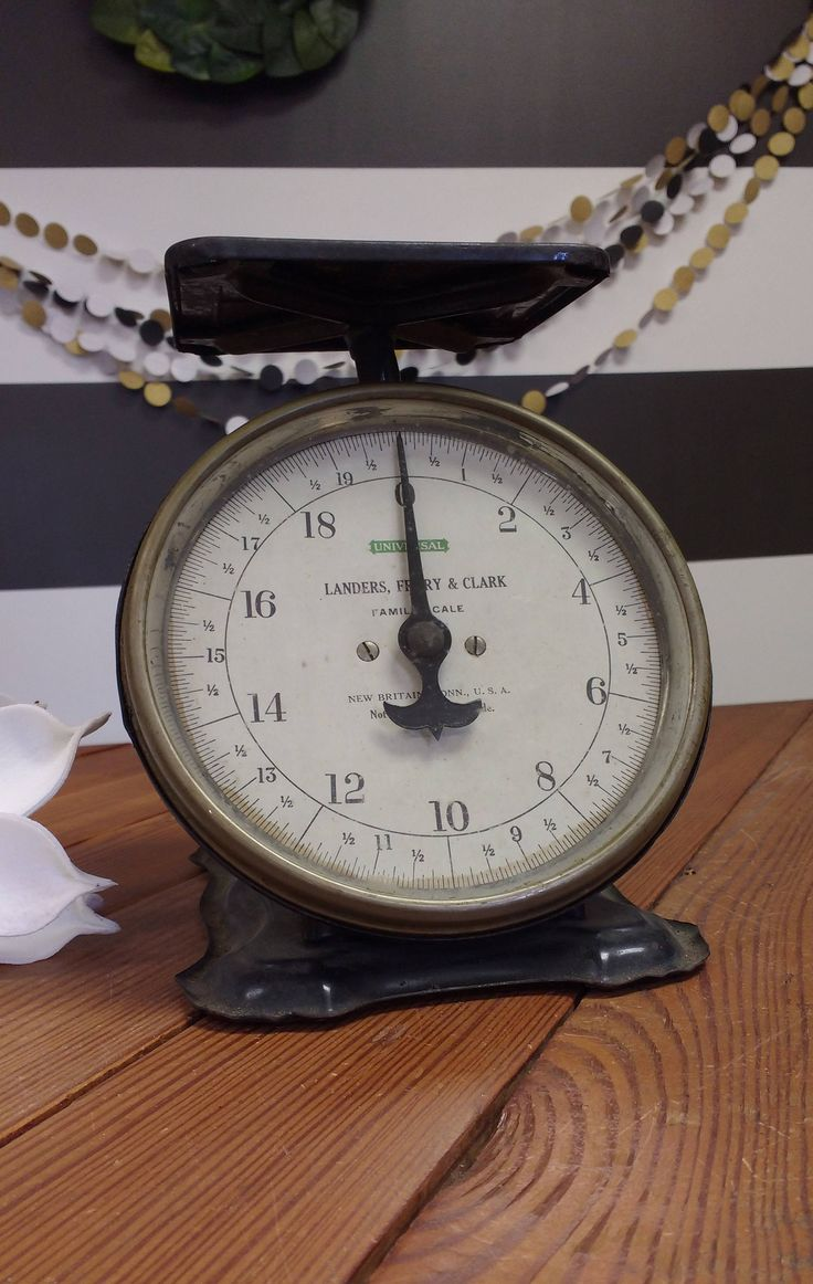 Fixer upper kitchen scale - Kitchen Scale Antique Scale Kitchen Decor Counter Top Display Farmhouse Style