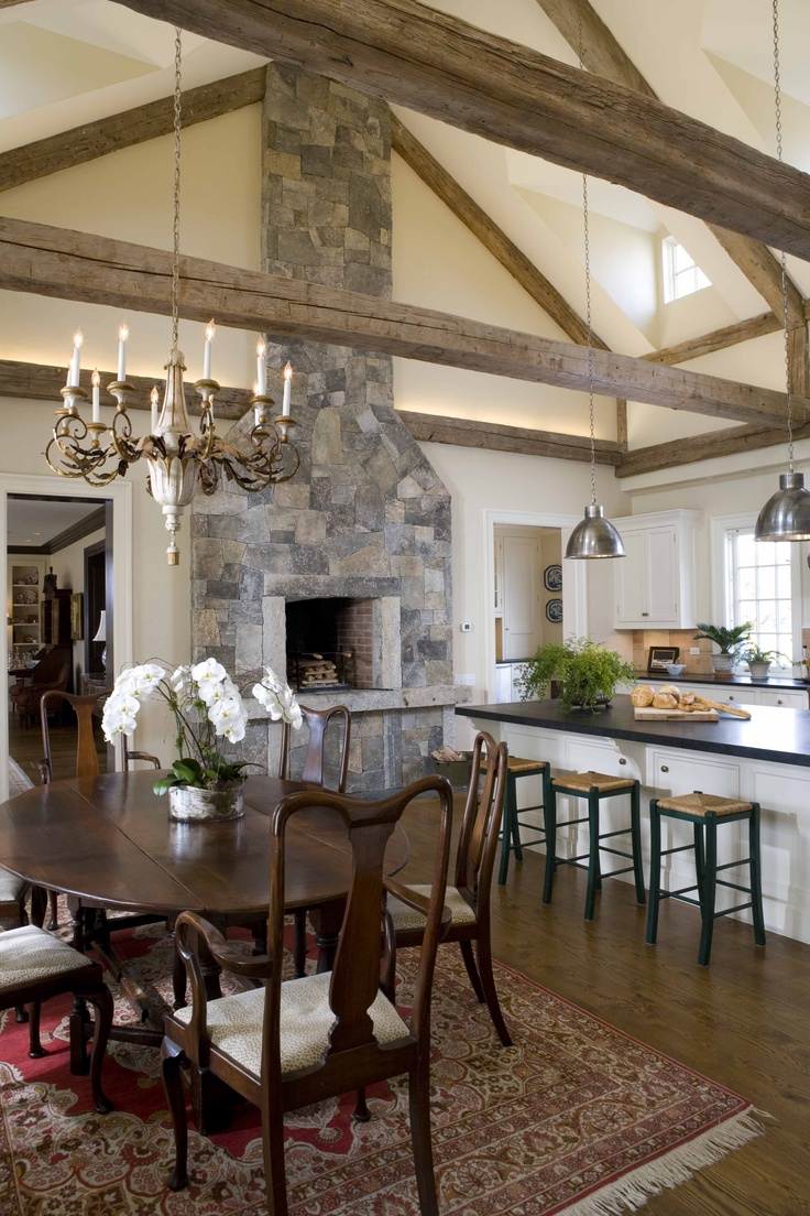 46 best lake house fireplace images on pinterest for Kitchen fireplace design ideas
