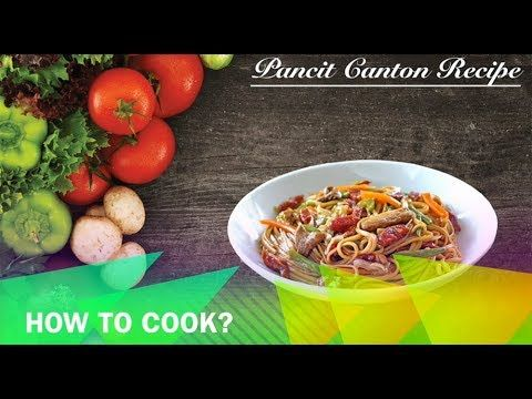 Pancit Canton Recipe         |          Buhay Kusina   Pancit Canton Recipe is lutong pinoy dish that uses flour sticks as the main ingredient mixed with vegetables, sliced pork, sausage, and shrimp and added condiments like soy sauce and oyster sauce to make it more delicious. You can also use Lo Mein or tossed noodles.