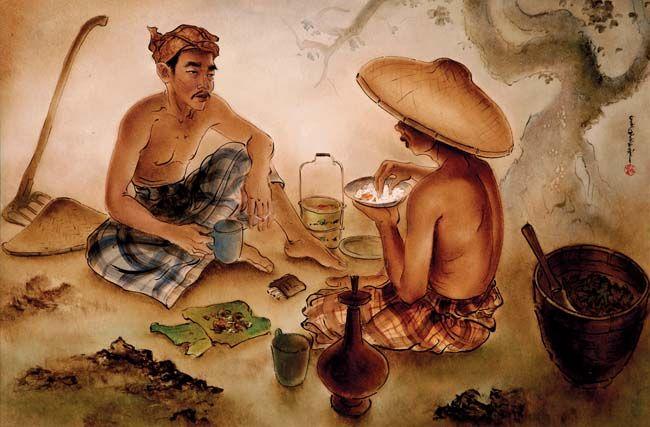 Cheng Shui (Bogor, West Java, 1981), Makan.