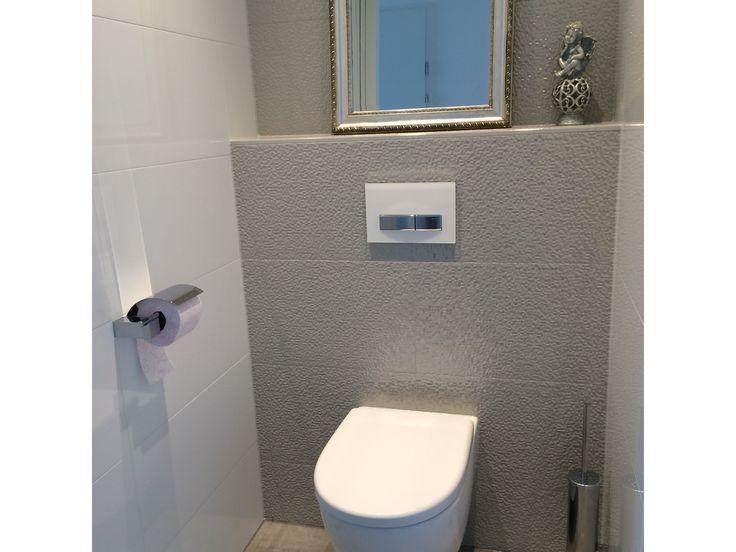 Toilet wandtegels venis cubica gris