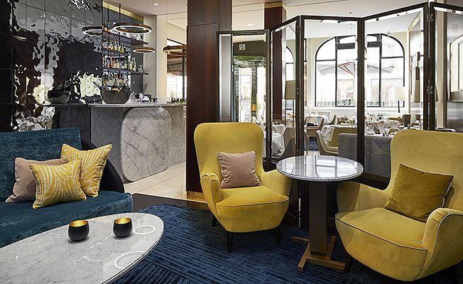 Отель Montalembert: парижский декор от Паскаля Алламана • Модное место • Дизайн • Интерьер+Дизайн
