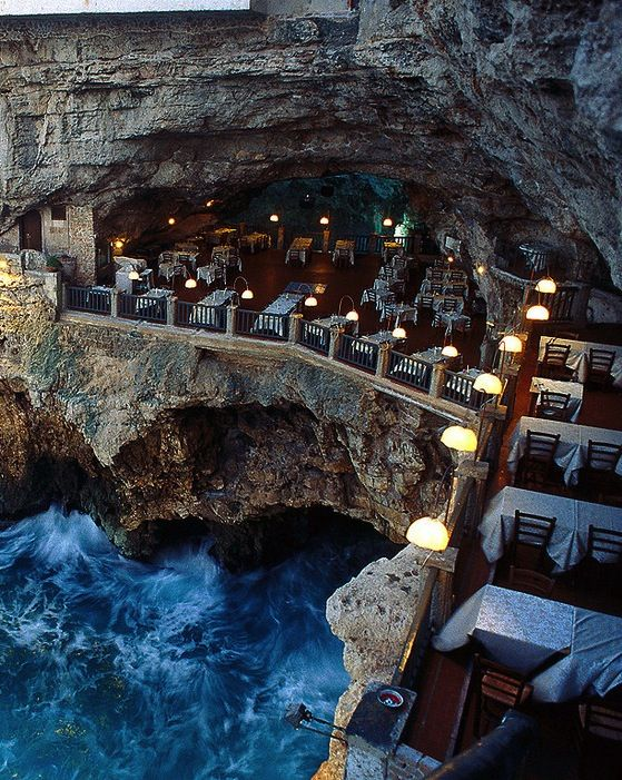 Grotta Palazzese Hotel - Explore the World with Travel Nerd Nici, one Country at a Time. http://TravelNerdNici.com