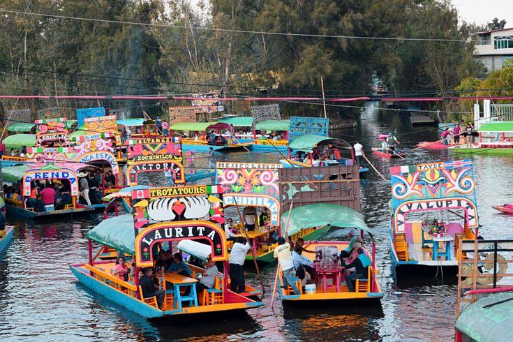 Xochimilco- Embarcadero Nuevo Nativitas $350 per hour