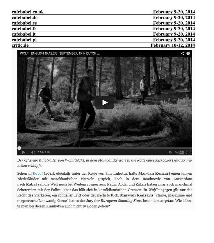#ClippedOnIssuu from European Shooting Stars Press Dossier Part 1