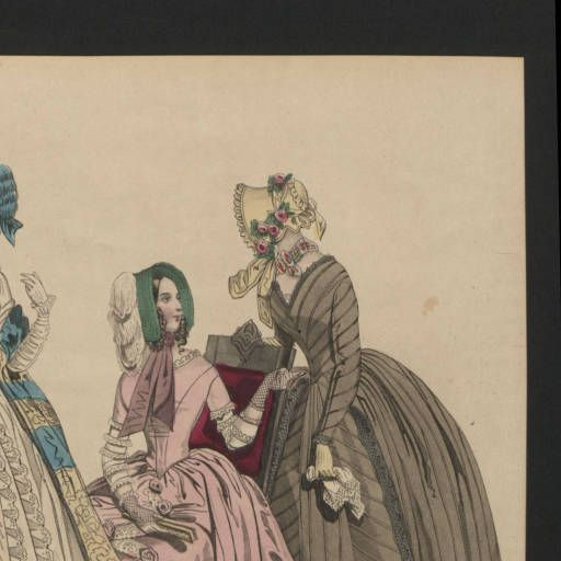 Women 1842, Plate 085 :: Costume Institute Fashion Plates: