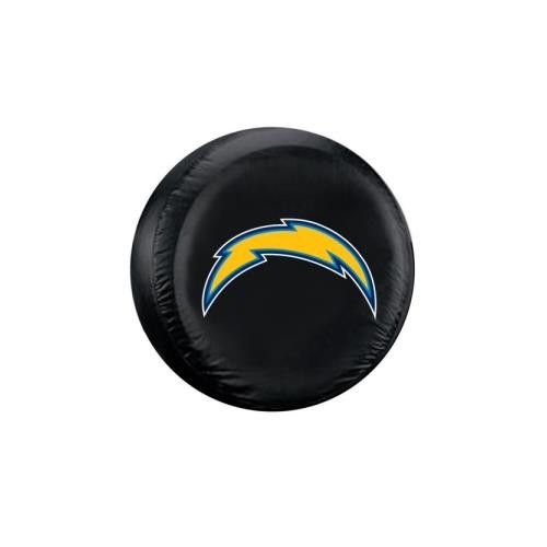 San Diego Chargers NFL Spare Tire Cover (Standard) (Black)
