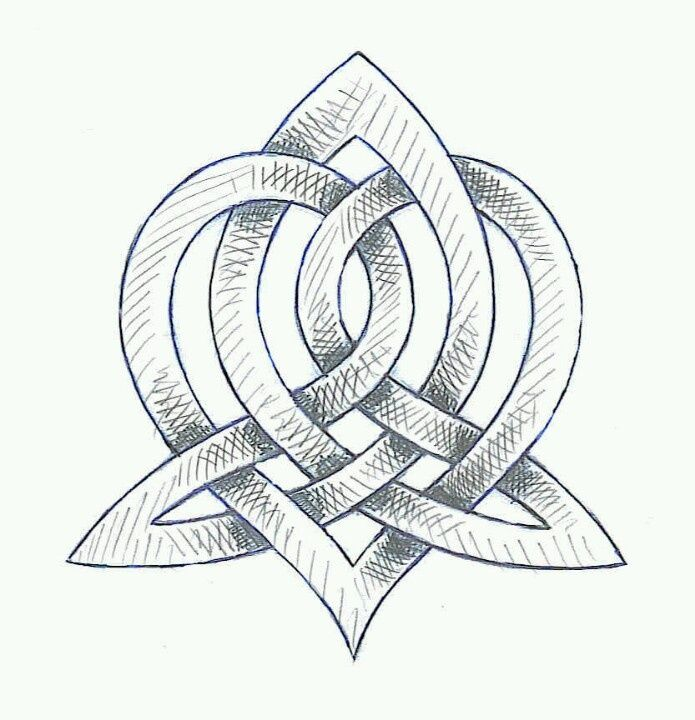 I want this with Blood of my Blood in Scots Gaelic. This is the Celtic symbol for family. :)