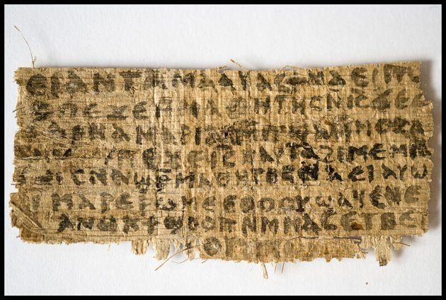 A newly discovered scrap of 4th-century papyrus containing a reference to Jesus' wife.