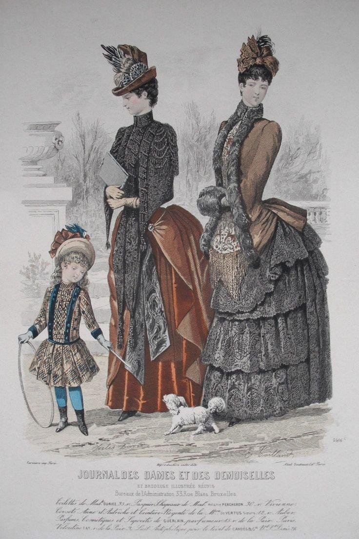 Moniteur des Dames et des Demoiselles circa 1887