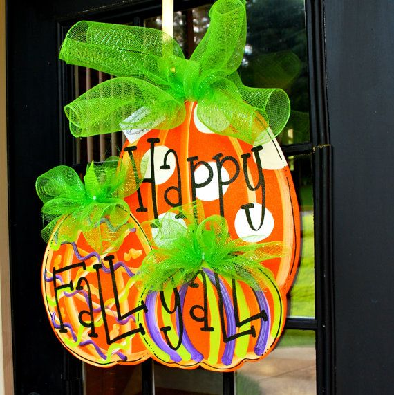 Outdoor Fall Decorating Ideas Doors Porches