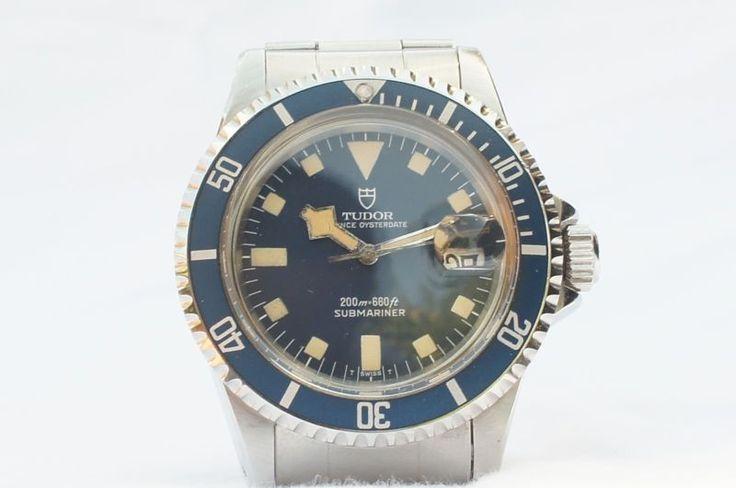 Blue Rolex Tudor Submariner ref 94110 Snowflake dial