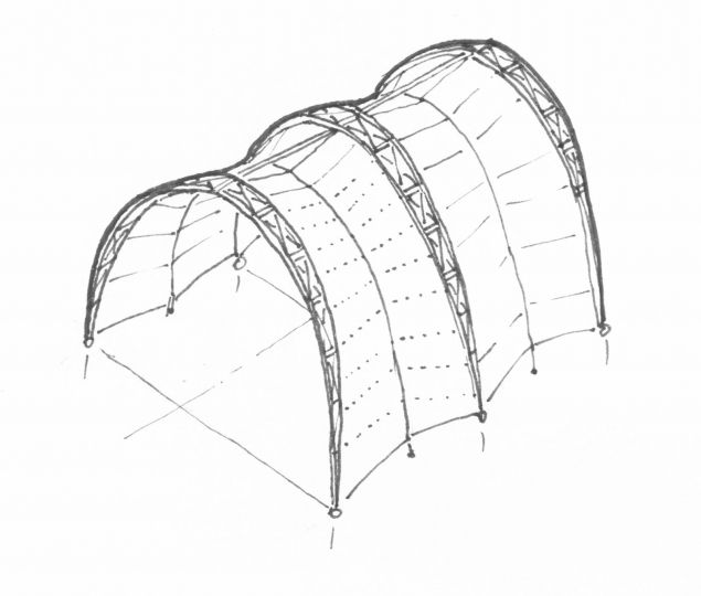 17 Best Images About Tensile Architecture On Pinterest