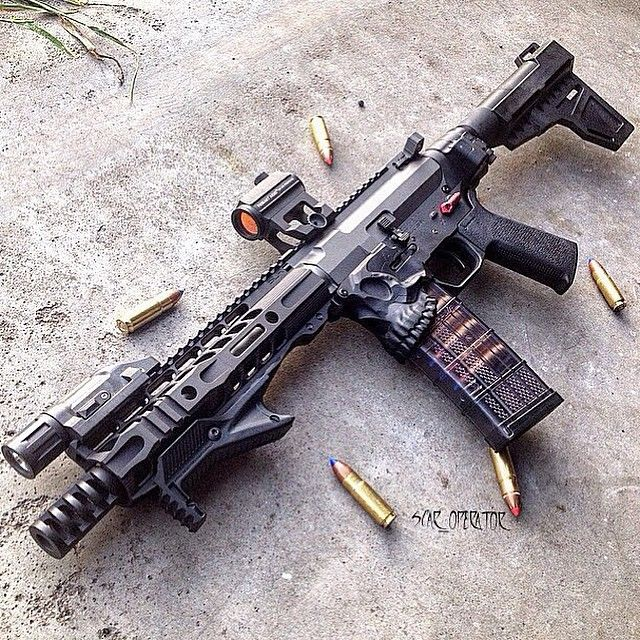 """Pretty awesome .458 build from @scar_operator using a 9"""" Intrepid HG…"""