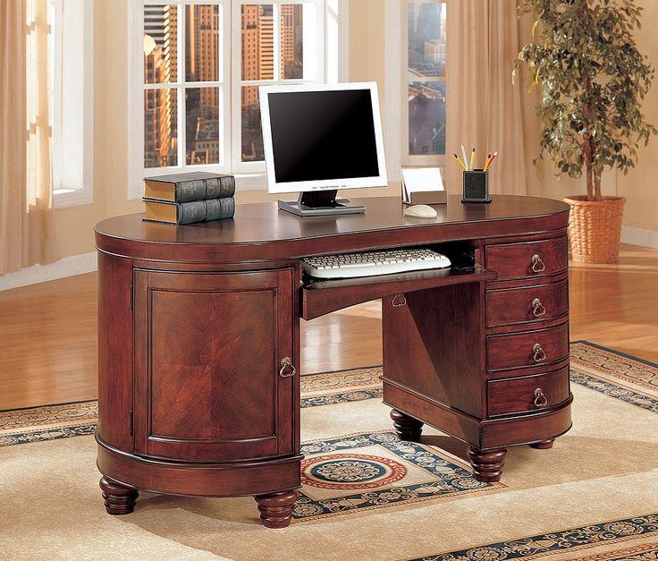 Kidney Shaped Desks   Discount Computer Desks   Affordable Home Office Desk    LaPorta Furniture. 113 best Office images on Pinterest   Furniture decor  Recliners