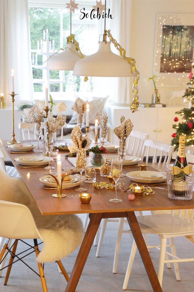 Silvester Tischdekoration Ideen