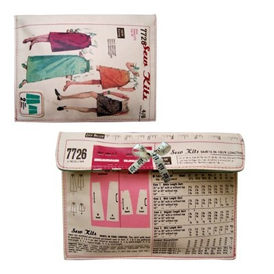 Disaster Designs Needle & Thread Make-Up Cosmetic Bag
