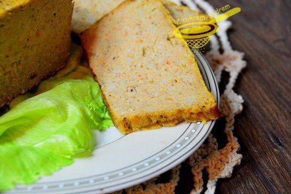 z cukrem pudrem: pasztet drobiowy z wędzonką (bez wątróbki)