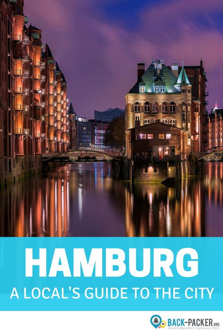 A local's guide to exploring Hamburg, Germany.  38 insider tips + best things to do in the city. Travel in Europe. | Back-Packer.org