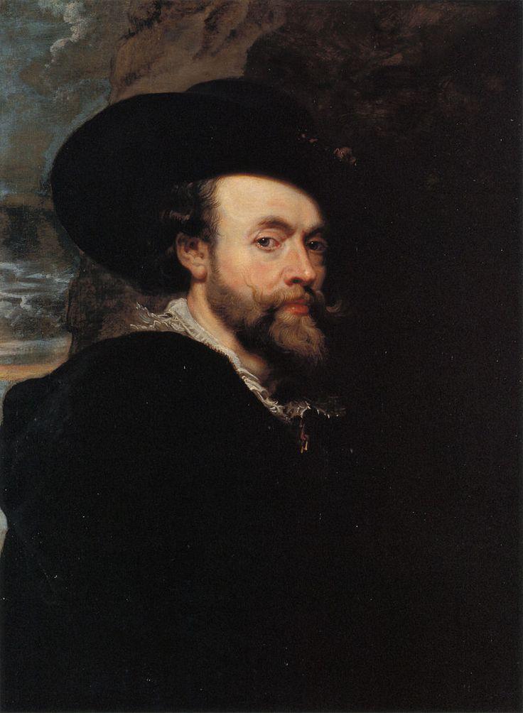 800px-Self-portrait_by_Peter_Paul_Rubens - Museo dell'Arte