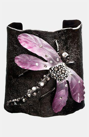 Alexis Bittar 'Allegory' Dragonfly Wide Cuff