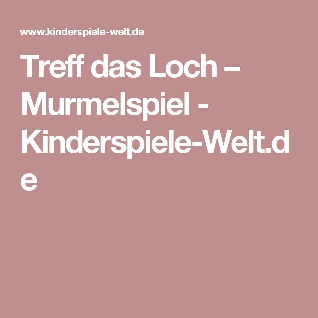Treff das Loch – Murmelspiel        - Kinderspiele-Welt.de