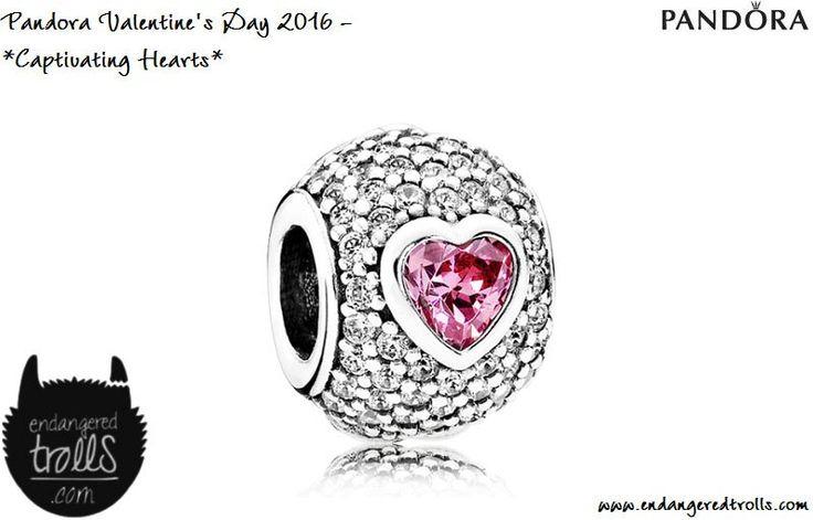 Pandora Captivating Hearts