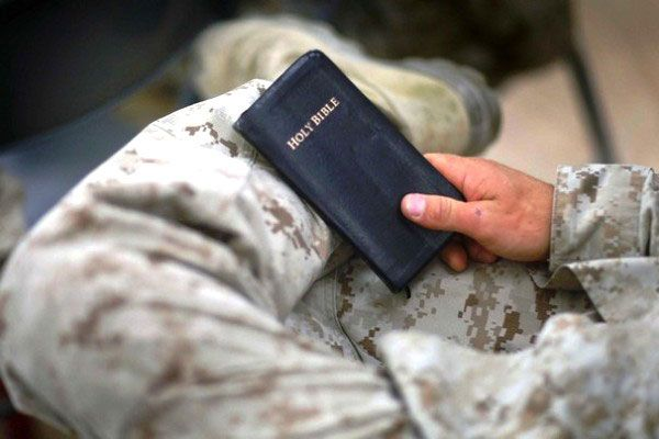 Bible Verses to share during Basic Training and Boot Camp.