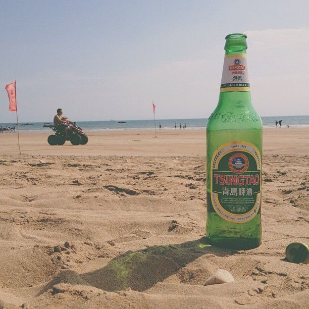 Tsingtao on the Beach in Qingdao.