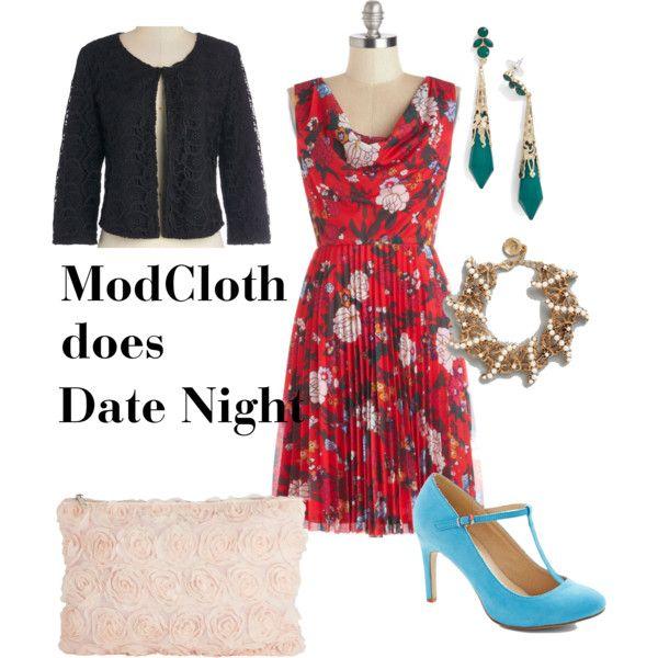 One @ModCloth dress three ways - Date night